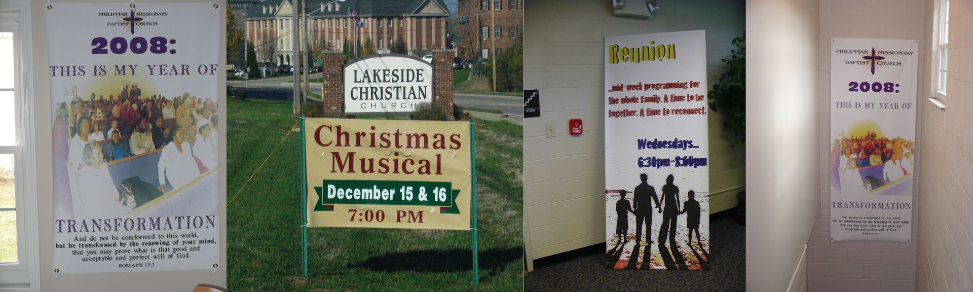 catholic christmas banners