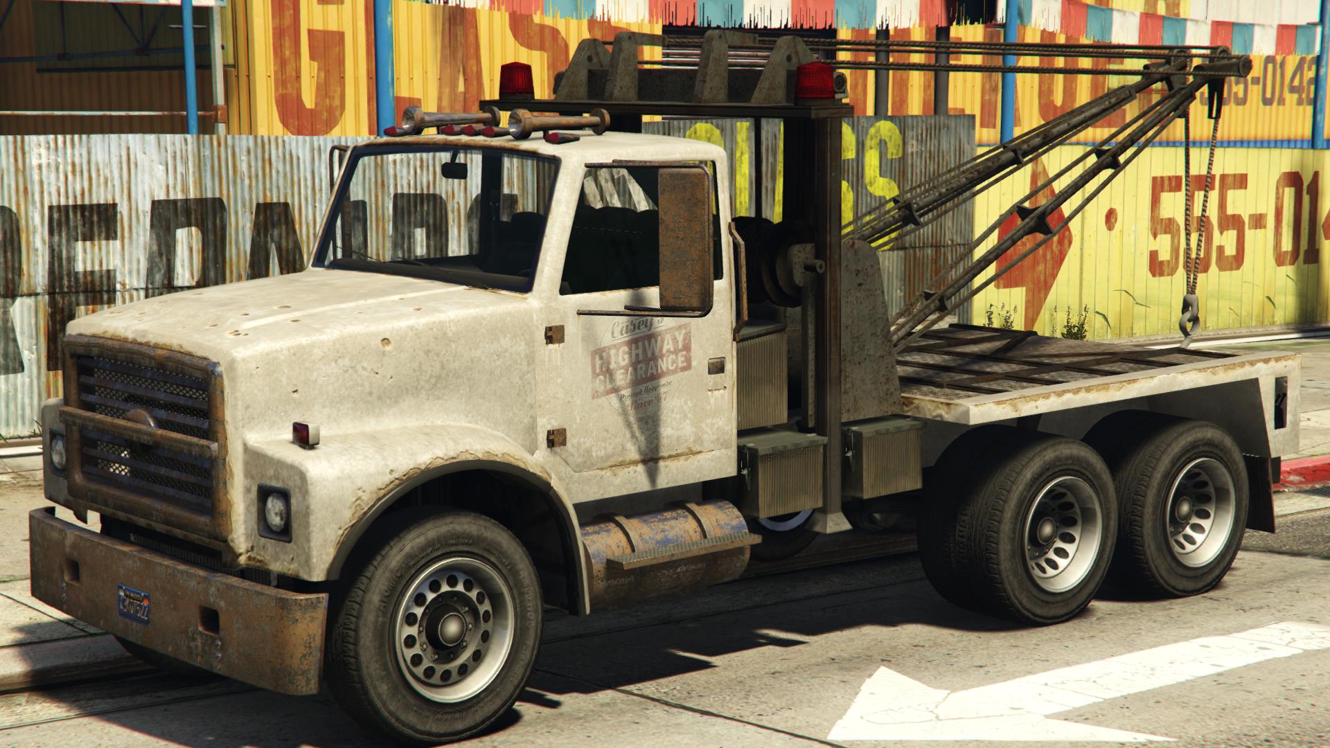 Towtruck-truck