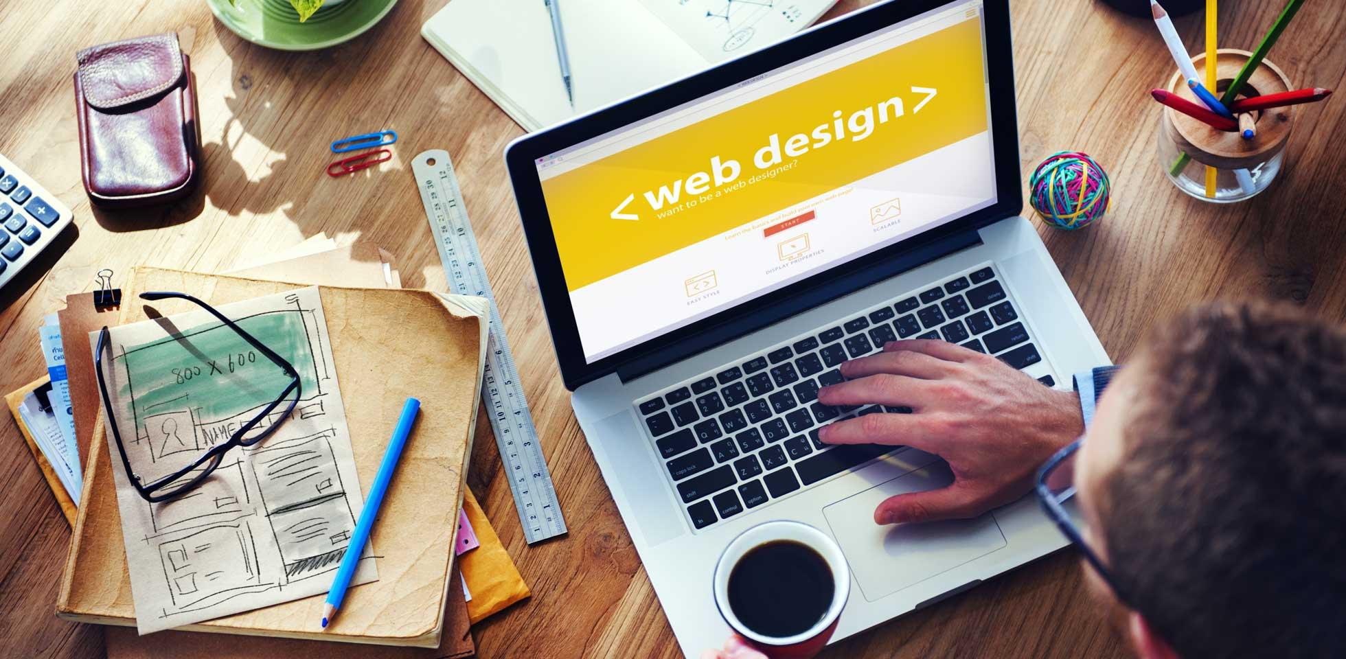 web designing concept